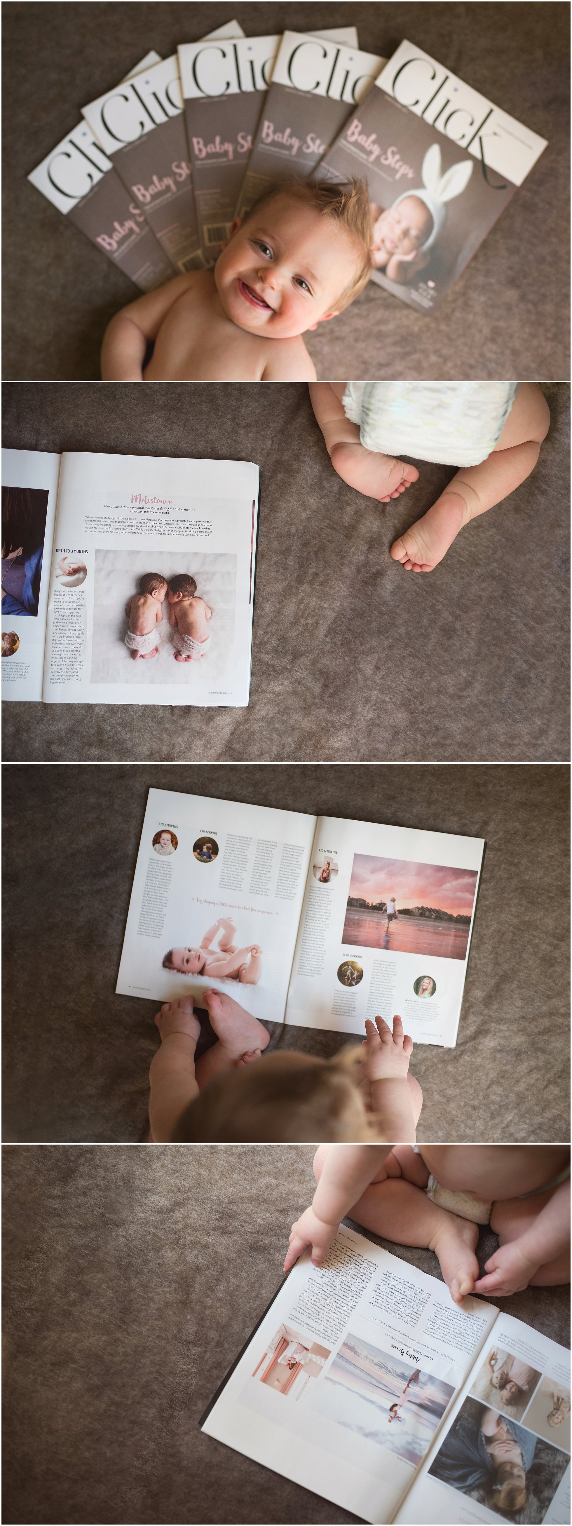 Ashley Berrie Photography Click Magazine Atlanta Baby Photographer